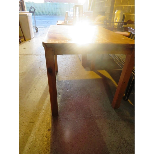 36 - DINING TABLE...