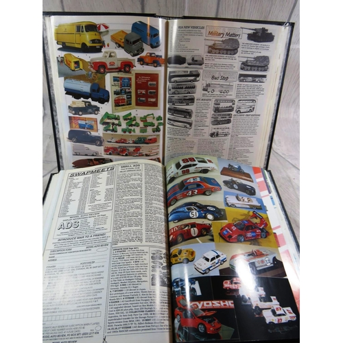469 - TWO BOOKS CONTAINING - MODEL CARS...