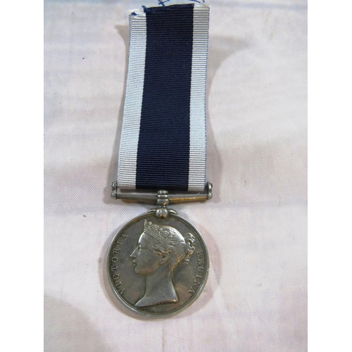339 - NAVY VICTORIAN LSGC TO MASTER ATARMS JOHN CLARK...
