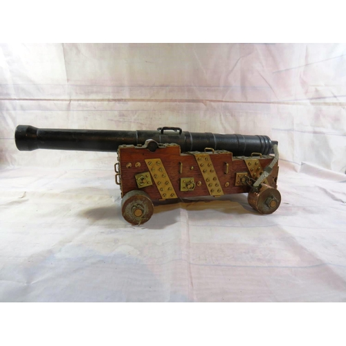485 - ANTIQUE CANNON...
