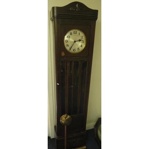 50 - ANTIQUE LONG CASED CLOCK...