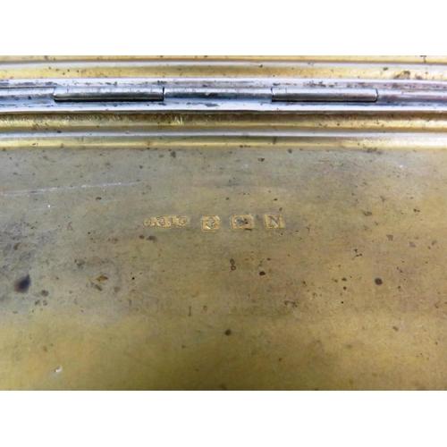214 - VINTAGE STERLING SILVER HALLMARKED CIGARETTE CASE - 166g...
