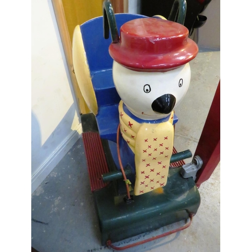 2 - VINTAGE MAGIC ROUNDABOUT BRIAN COIN OPERATED CHILDREN'S RIDE...