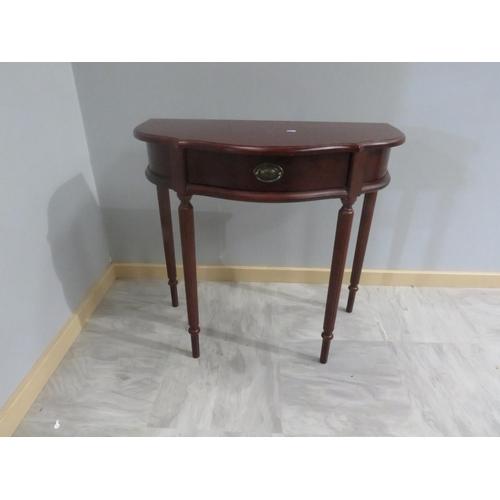 24 - HALF MOON TABLE...