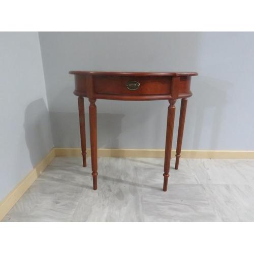 43 - HALF MOON TABLE...