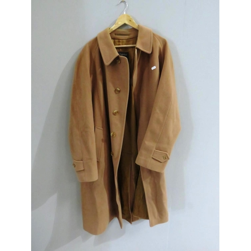 44 - BURBERRY CAMEL TRENCH COAT...