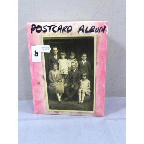 13 - POSTCARD ALBUM...