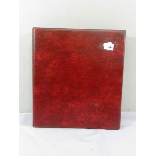 23 - ALBUM OF OLD CHEQUES, BANKNOTES AND COINS...