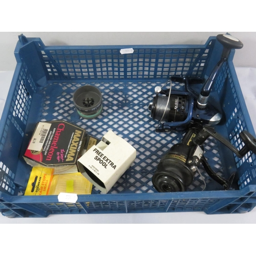 47 - FISHING REELS AND ACCESSORIES INCLUDING DAIWA...