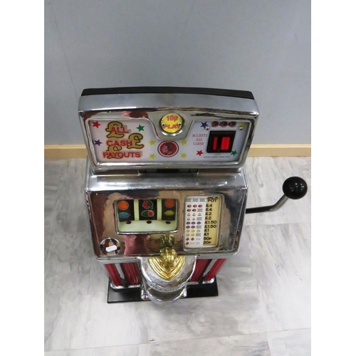 230 - GENUINE ONE ARM BANDIT ELECTRIC- UNTESTED IN EXCELLENT CONDITION...