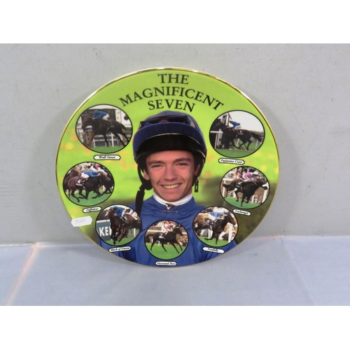 6 - ROYAL DOULTON COLLECTORS PLATE FRANKIE DETTORI - THE MAGNIFICENT SEVEN WITH C.O.A...