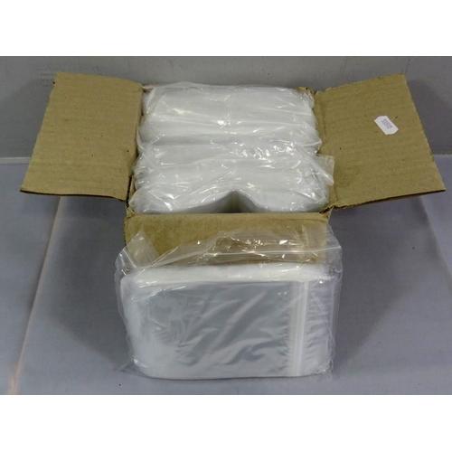 39 - BOX OF 900 4&1/2 X3&1/2 GRIP SEAL BAGS...