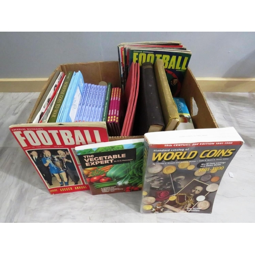 48 - BOX OF COLLECTABLE AND NEW BOOKS...