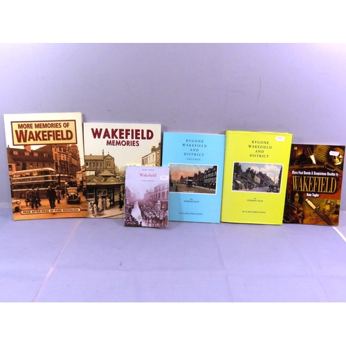 56 - SIX WAKEFIELD LOCAL HISTORY BOOKS...