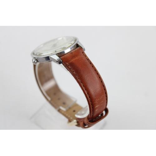 12 - Vintage Gents ROAMER Anfibio Stainless Steel WRISTWATCH Hand-Wind WORKING...