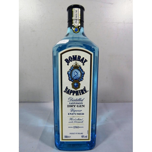205 - BOTTLE OF BOMBAY SAPPHIRE DRY GIN 100CL...