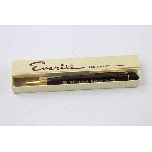 171 - 5 x Assorted Vintage EVERITE Advertising Propelling PENCILS In Original Boxes...