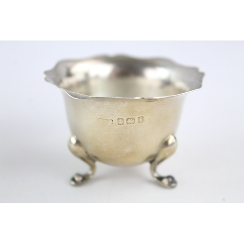 202 - 3 x Antique / Vintage Hallmarked .925 STERLING SILVER Condiment Dishes (67g)...