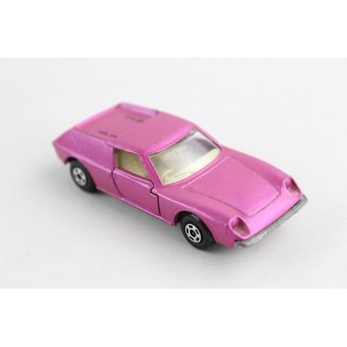 18 - 3 x Vintage Boxed MATCHBOX Diecast Models Inc. Lotus Europa, Maserati Bora Etc...