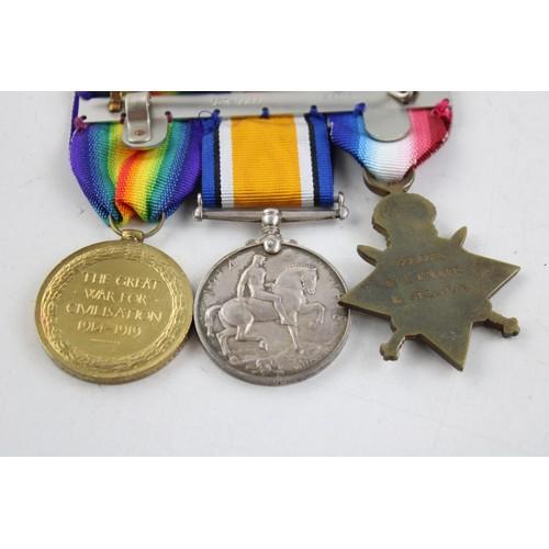20 - WW1 Trio named...