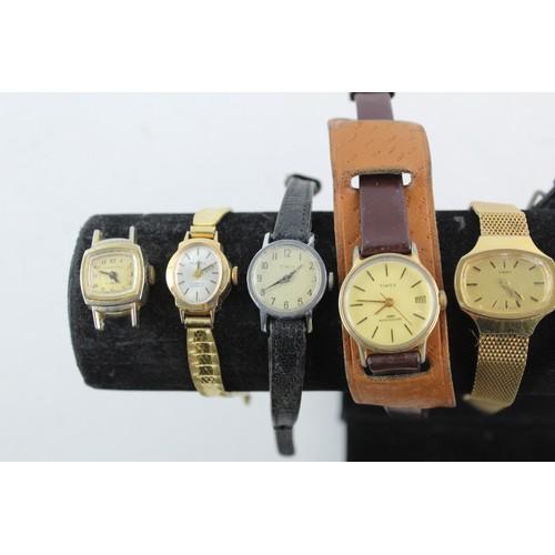 53 - 20 x Vintage Ladies WRISTWATCHES Hand-Wind Inc Montine, Cronel Etc...
