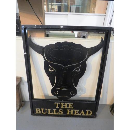 456 - THE BULLS HEAD PUB SIGN...