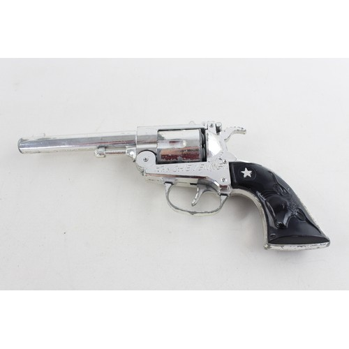 21 - Vintage 1970's LONE STAR The Cheyenne Toy Cap Gun w/ Holster...