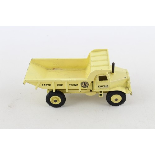 22 - Vintage DINKY SUPERTOYS Euclid Rear Dump Truck Diecast Model 965 w/ Original Box...