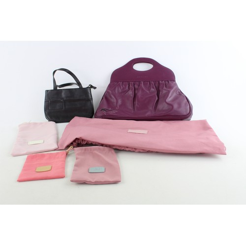5 - 2 x Assorted Ladies RADLEY Leather Handbags w/ Spare Dustbags...
