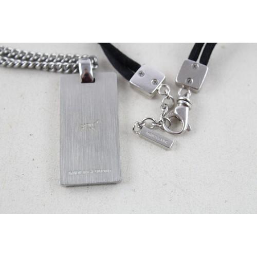 37 - 2 x Signed Mont Blanc DESIGNER JEWELLERY inc. Necklace, Bracelet...