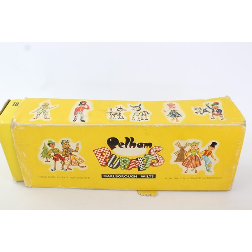 19 - Vintage BIMBO the Clown PELHAM Puppets Inc. Original Box...