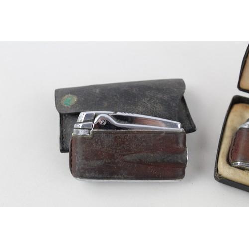 41 - 6 x Vintage RONSON Cigarette LIGHTERS Inc Varaflame, Ladies, Boxed Etc...