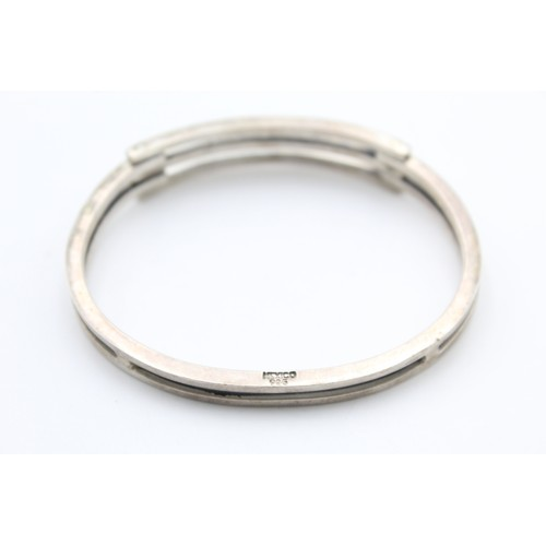 2 - .925 Mexico Silver Chunky Bangle