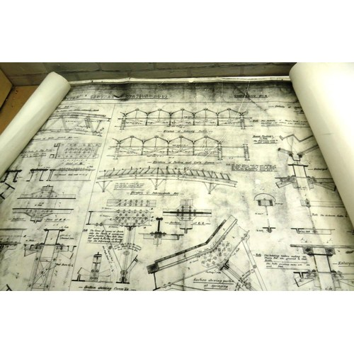 440 - TRAIN DRAUGHTS MAP DATED 1684