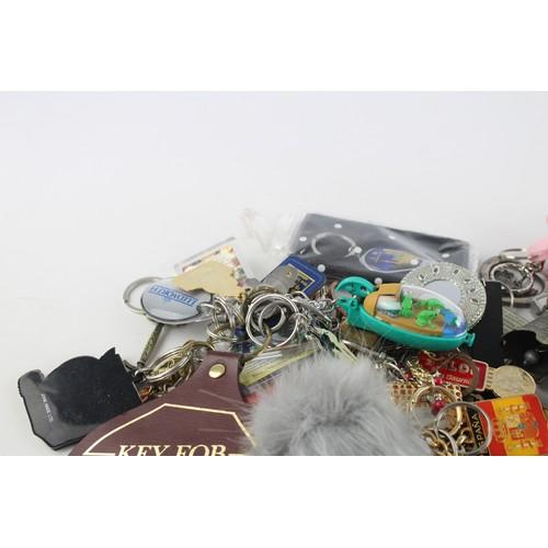 119 - 150+ Assorted KEY RINGS Inc Vintage, Advertising, Charities, Souvenir Etc