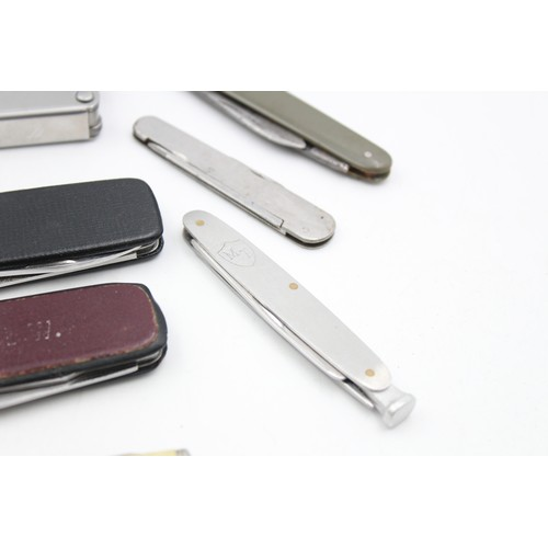 14 - 14 x Assorted POCKET KNIVES / TOOLS Inc Vintage, Multi-Tool, Royal, Cased Etc
