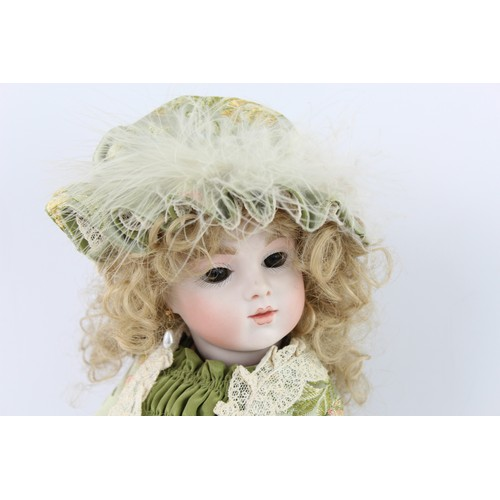 288 - 2 x Assorted Elizabeth Wilson Yorkshire Handmade Bisque Dolls