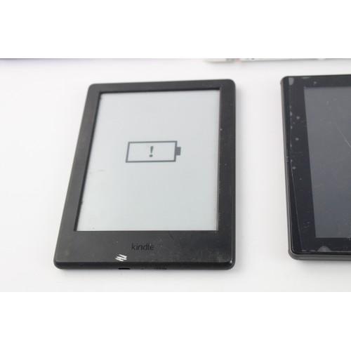 1 - 6 x Assorted TABLETS / E-READERS Inc Amazon, Kindle Etc