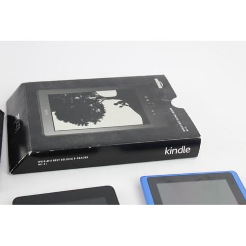 23 - 5 x Assorted TABLETS / E-READERS Inc Amazon, Kindle, Nook Etc
