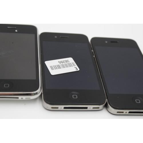43 - 4 x Assorted Apple IPHONES Inc 4, 4s, 6s Etc
