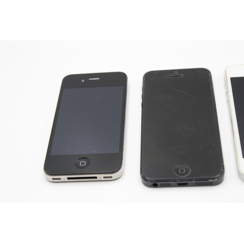 53 - 4 x Assorted Apple IPHONES Inc 4s, 5, 5s, 6 Etc