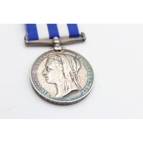 8 - 1882 Victorian Egypt MEDAL To 1948 Pte H. Dixon 2nd Manchester's