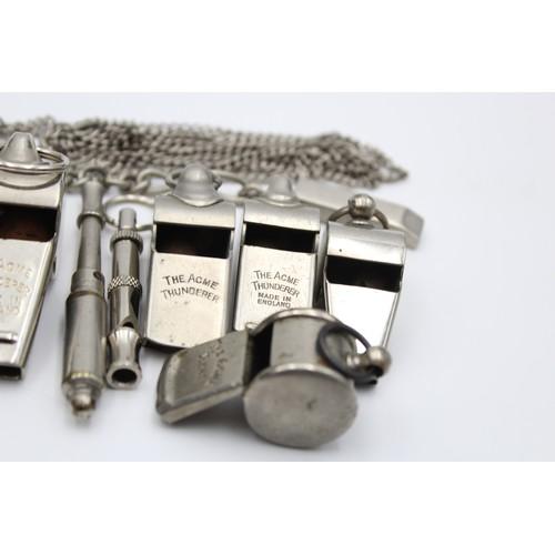 18 - 15 x Assorted Vintage WHISTLES Working Inc Metropolitan, ACME Etc