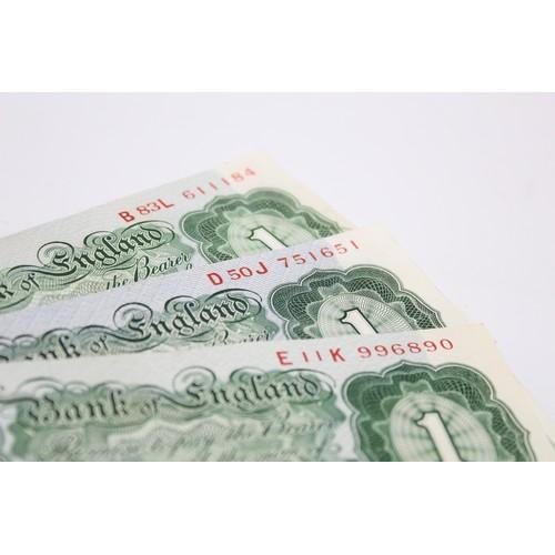 24 - 10 x BANK OF ENGLAND Un-Circulated £1 & Ten Shilling Bank Notes