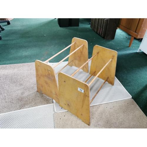 11 - Two Wooden Shoe Racks