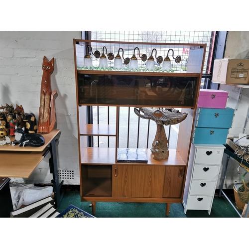 19 - Vintage Teak Schreiber Room Divider 176cm High, 107cm Wide 36.5cm deep