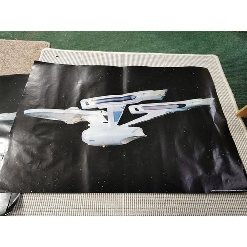 26 - Large Collection Of Original 1980 Paramount Pictures USS Enterprise Star Trek Posters