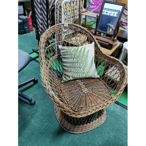 29 - Wicker Conservatory Chair