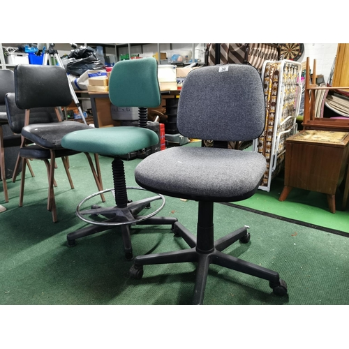 30 - Pair Of Office Chairs