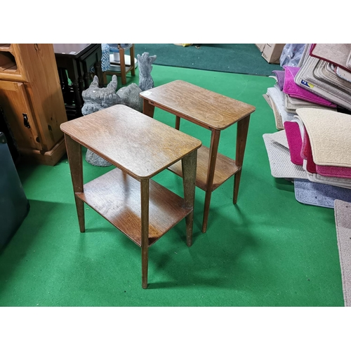 41 - Pair Of Small Retro Tables